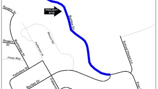 Map of Cambria Guardrail Replacement