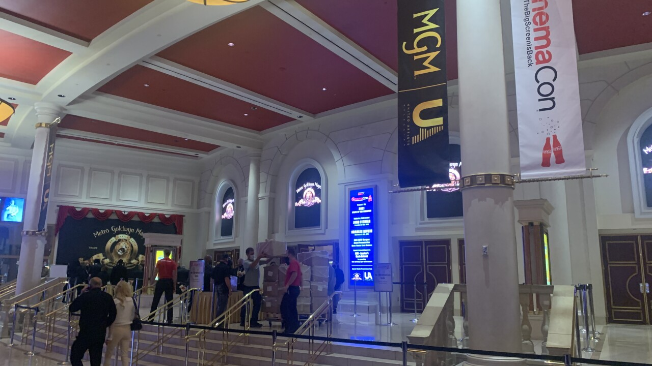 CinemaCon in Las Vegas provides glimpse into the future of film industry