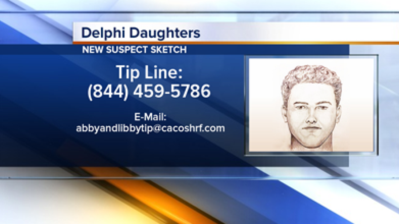 Delphi Murders: ISP says new audio, video and sketch shows Libby
