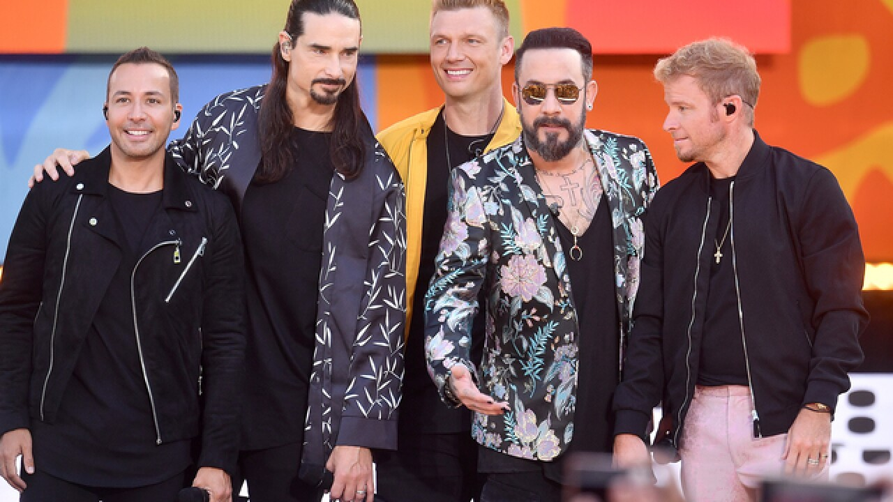 Backstreet Boys performing in Indy in 2019