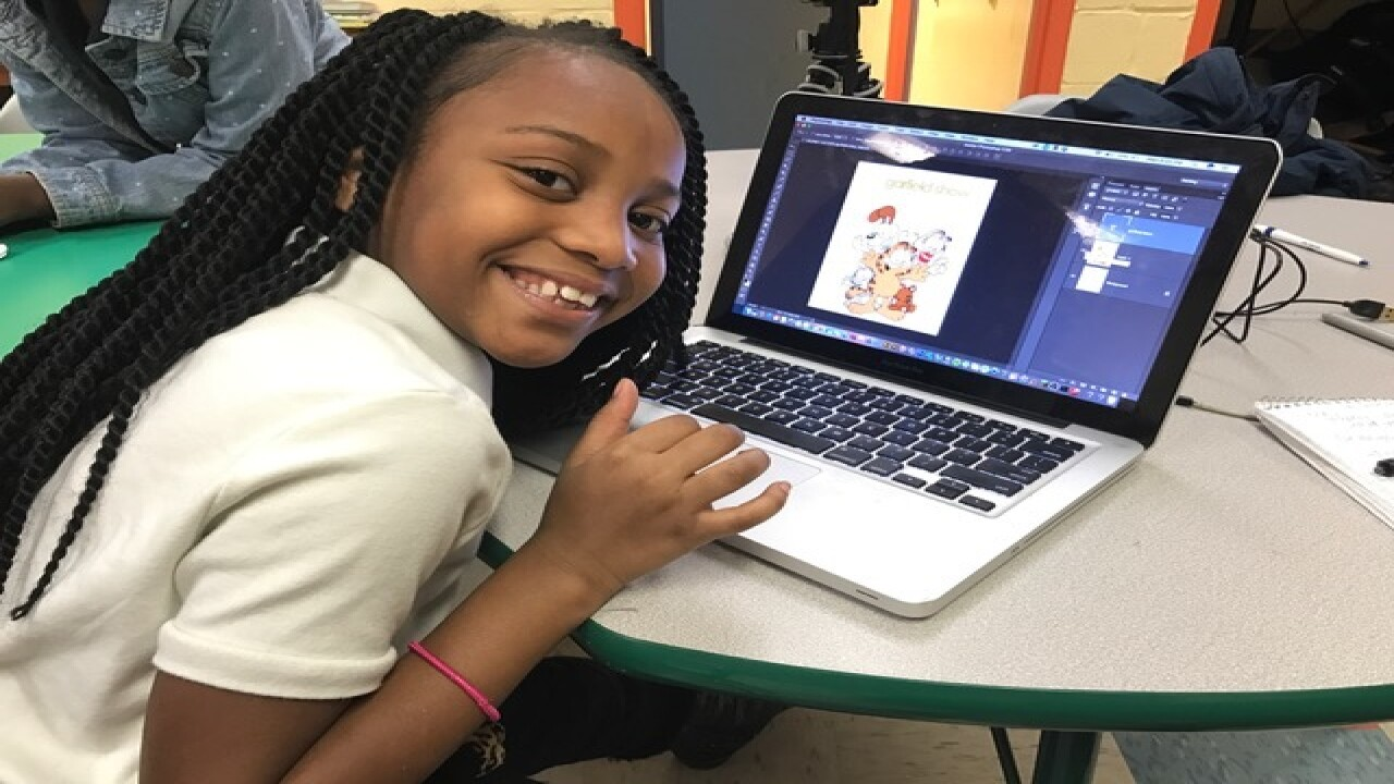 Local artist empowers youth with graphic design