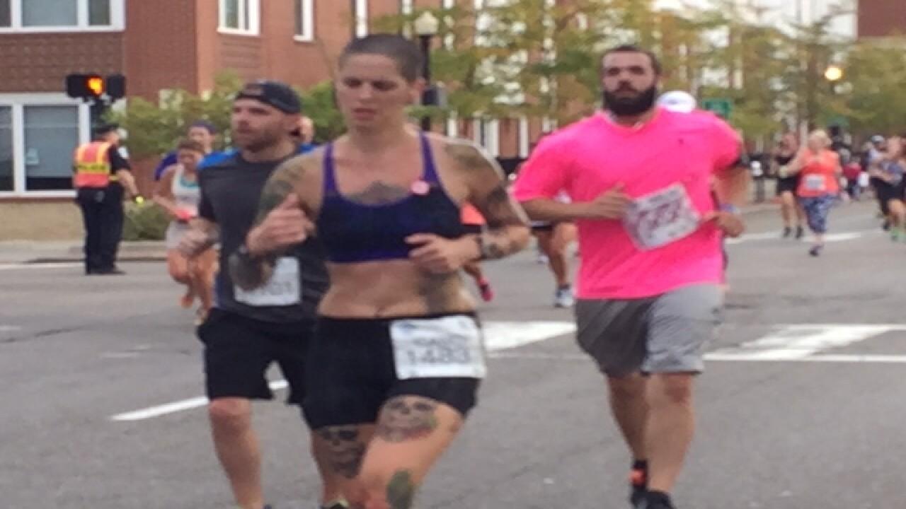 PHOTOS: Runners begin Akron Marathon