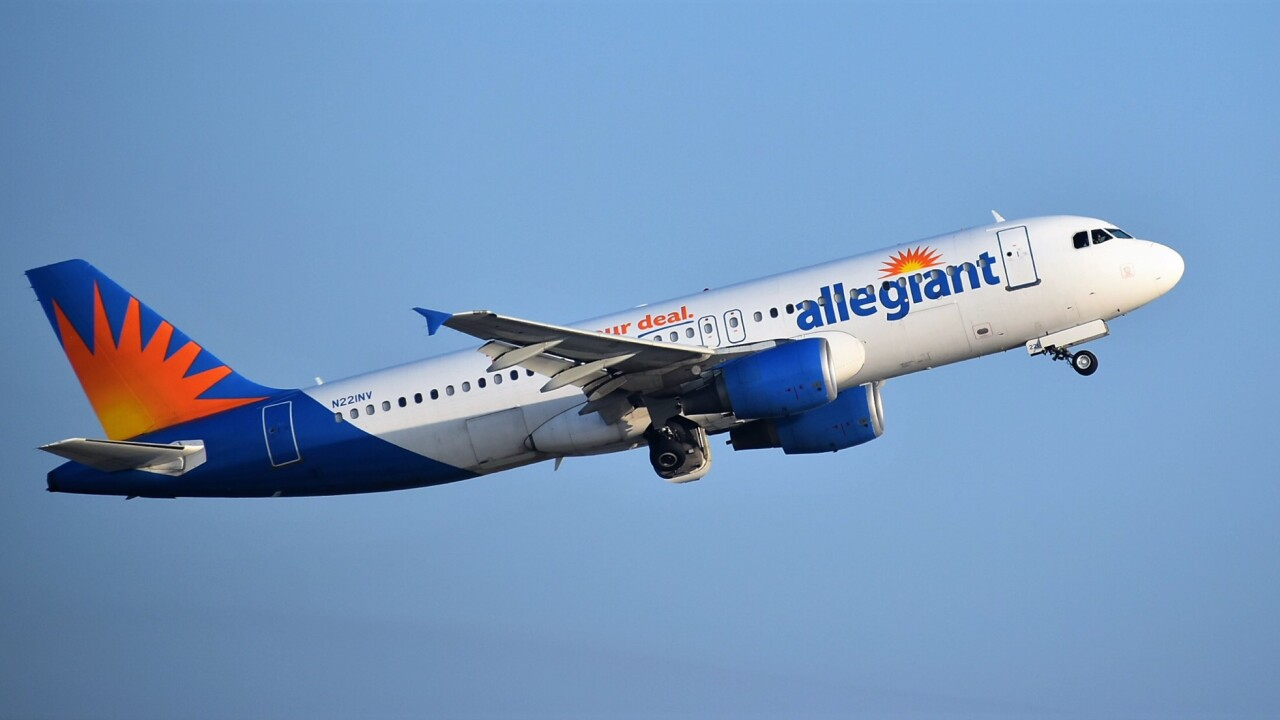 Allegiant announces new, non-stop flight from Tucson to Las Vegas