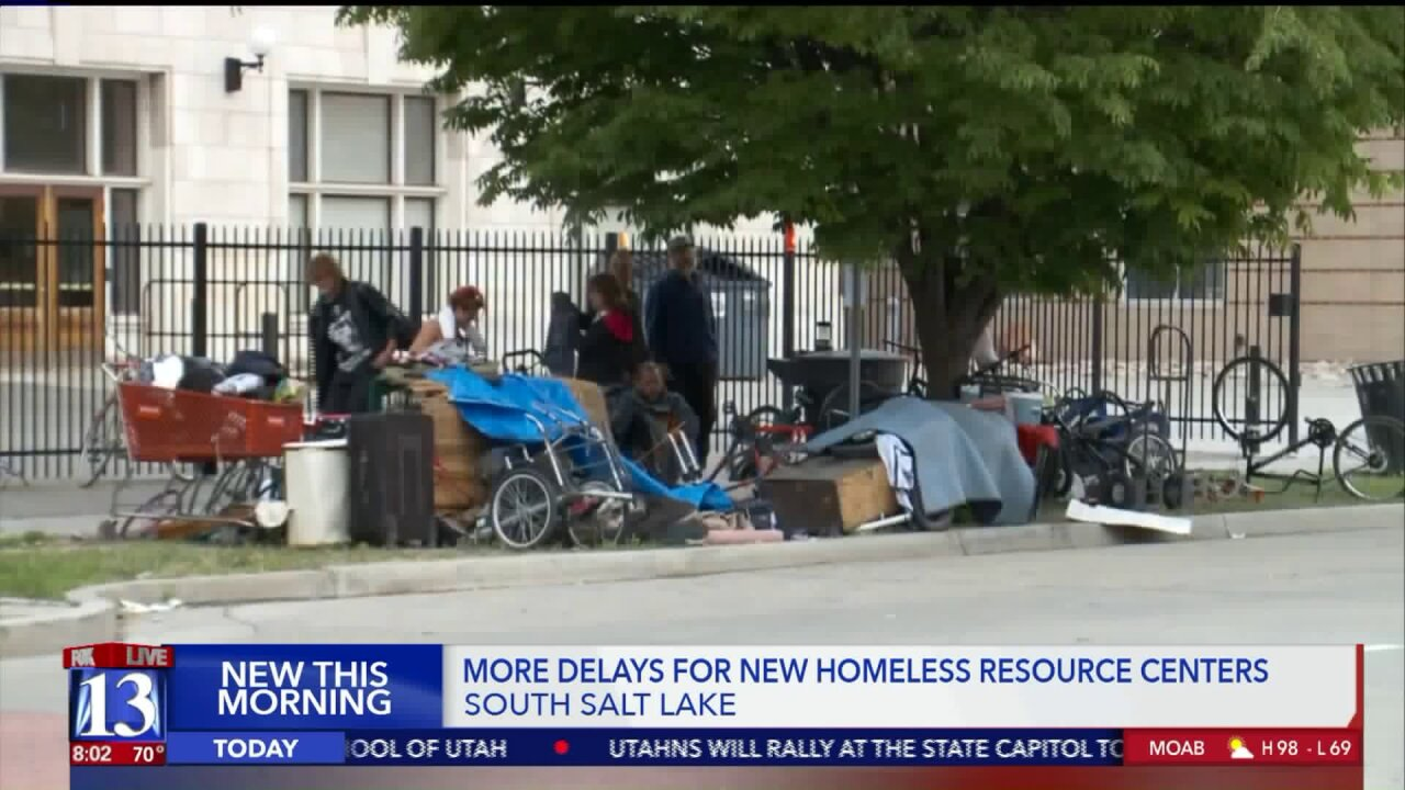 Homeless resource center in South Salt Lake facing delays amid past-duebills