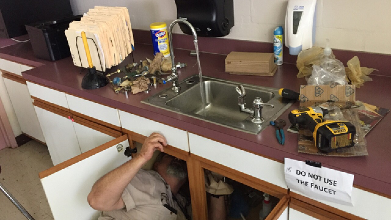 Two Polk schools cleared of high lead levels