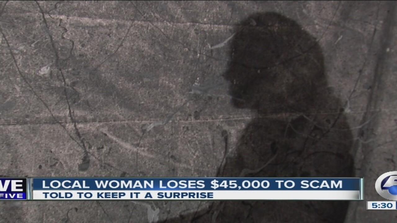 Scam takes Wayne County woman's life savings