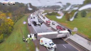 i-635 and 35 crash