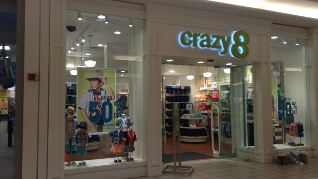 All items at Crazy 8 are $13 or less, plus free shipping