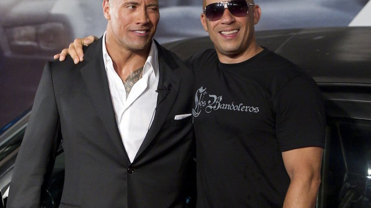 Dwayne Johnson shares Vin Diesel feud backstory