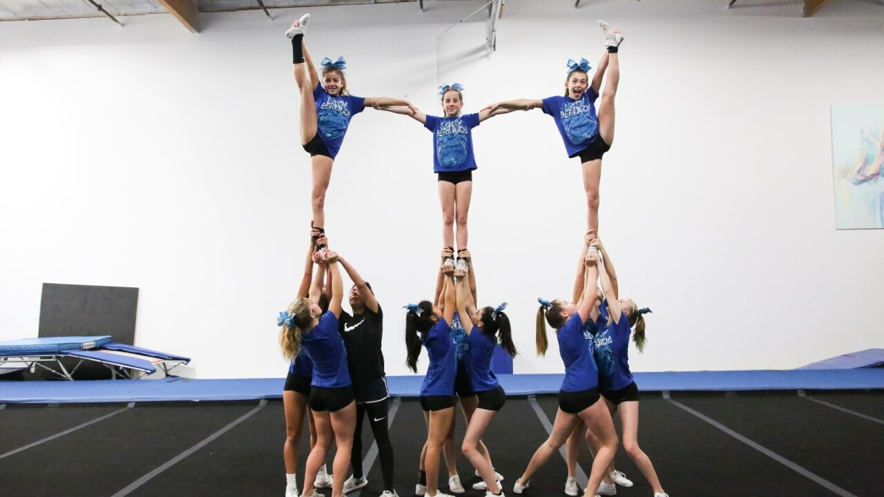 Rhode Island Cheerleading