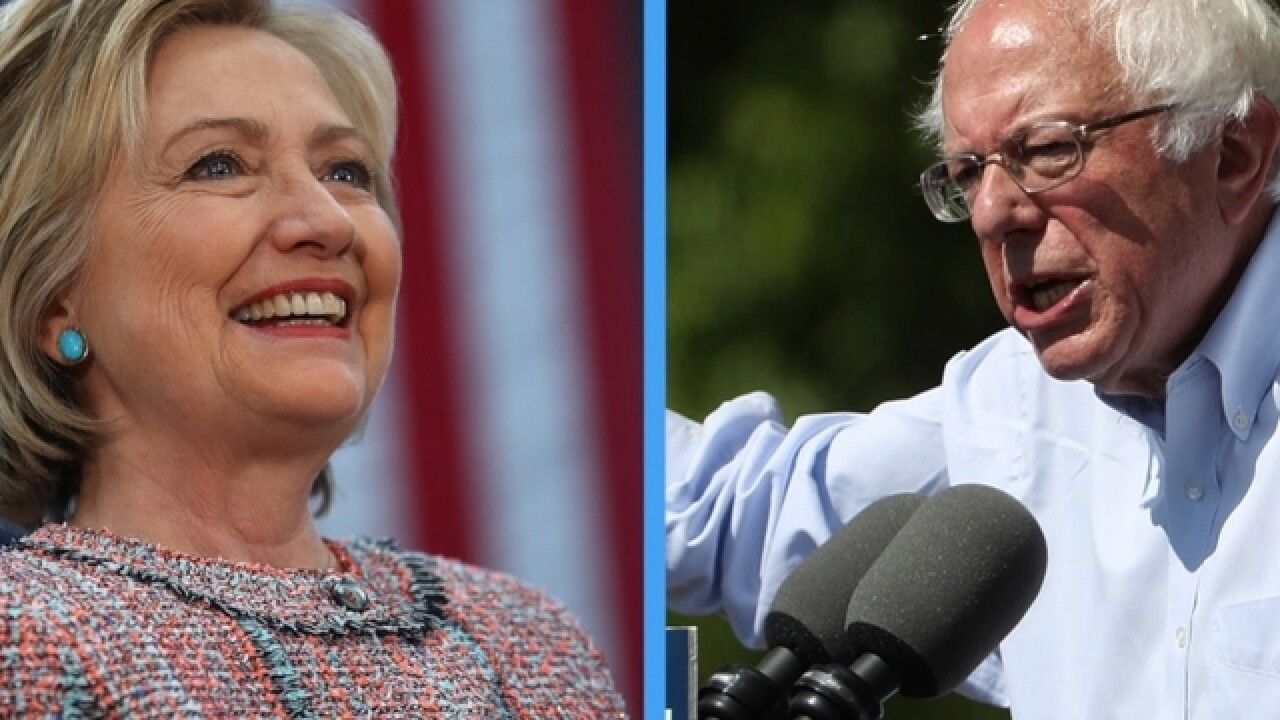 Post-primaries, Clinton and Sanders try working together