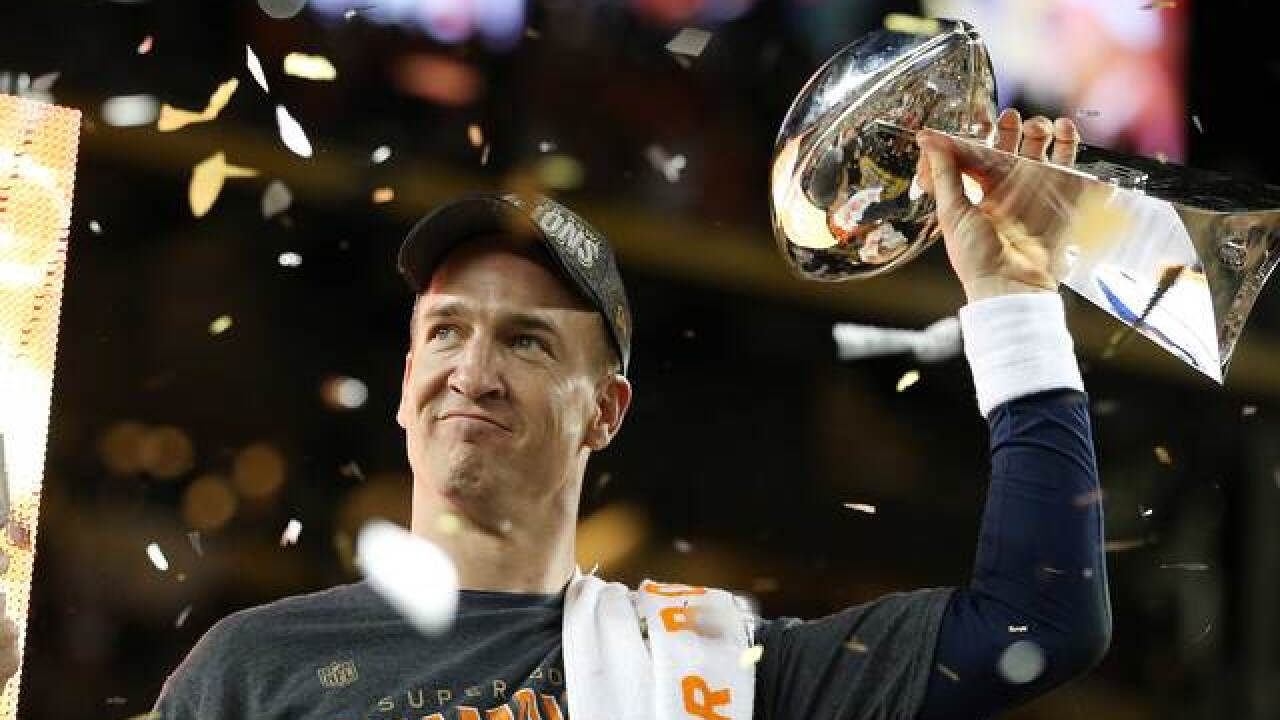 The Denver Broncos are going to the White House