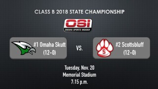 Class B Football State Championship: Skutt Catholic vs. Scottsbluff live updates