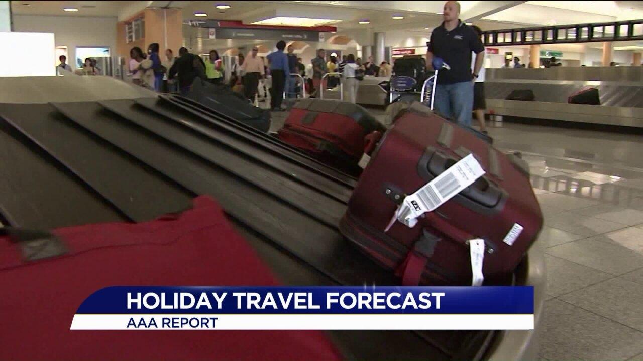 AAA predicts 1 million Virginians will travel forThanksgiving