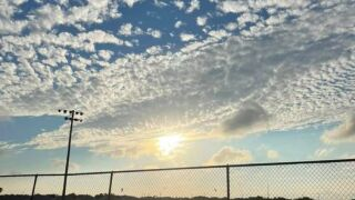 Beautiful sunshine over at Bill Witt Park - Photo By: FB Coastal Bend Weather Watcher Valerie Ortiz
