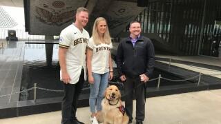 Army veteran receives service dog