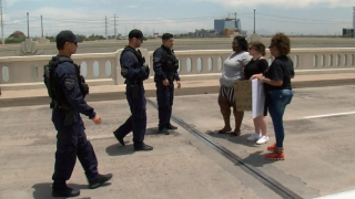 Protesters arrested on Tempe bridge
