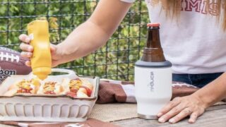 This Clever Tumbler Doubles As A Koozie