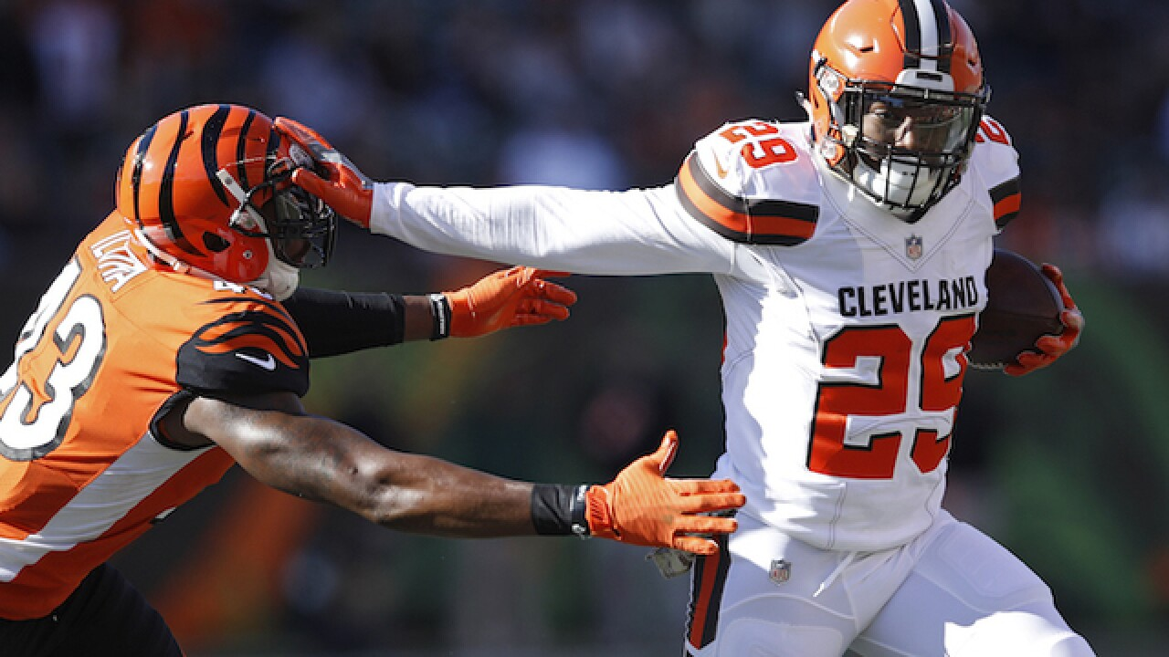 Browns reward running back Duke Johnson with a three-year, $15.6 million contract extension