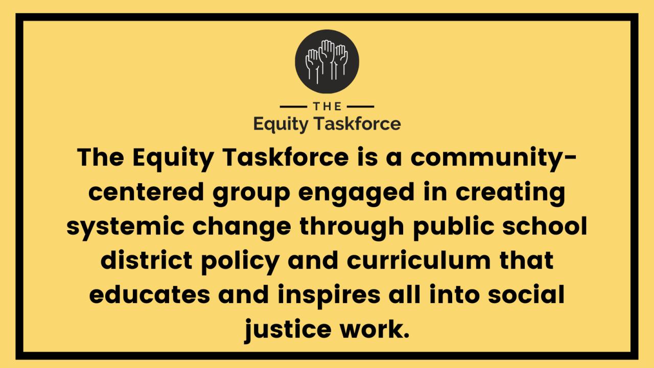 The Equity Taskforce