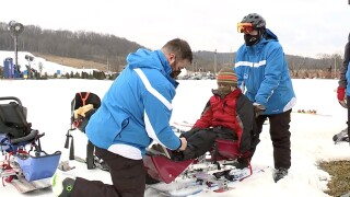 kids with disabilities at perfect north