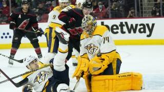 Predators Hurricanes Hockey
