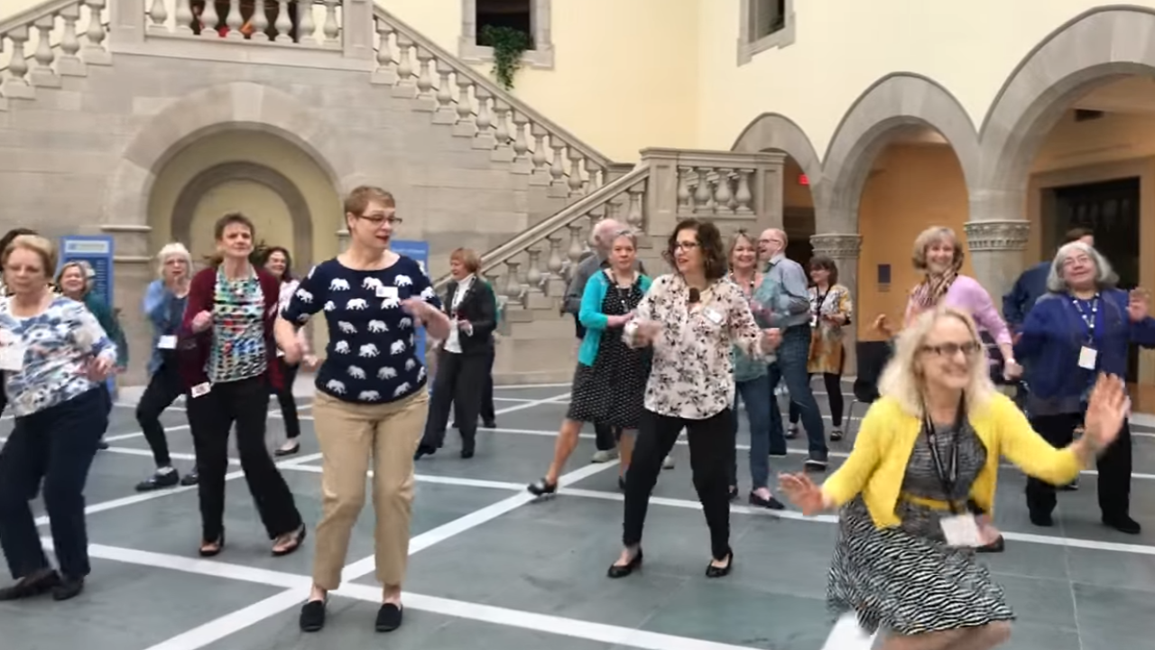 Chrysler Museum of Art wins first round of national dance-off, vote to help them win it all