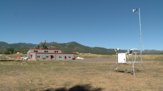 Beulah weather station