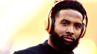 Arrest warrant issued for Odell Beckham Jr. after video shows him slap cop's backside