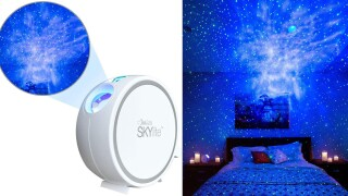 This night light that projects stars onto your bedroom ceiling is a best-seller on Amazon