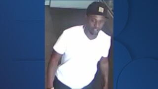 Omaha police need help identifying a man they believe is connected to a bank robbery.