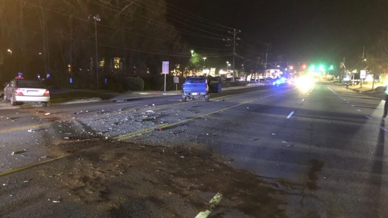 SU 1400 N. Main Street crash (February 9)