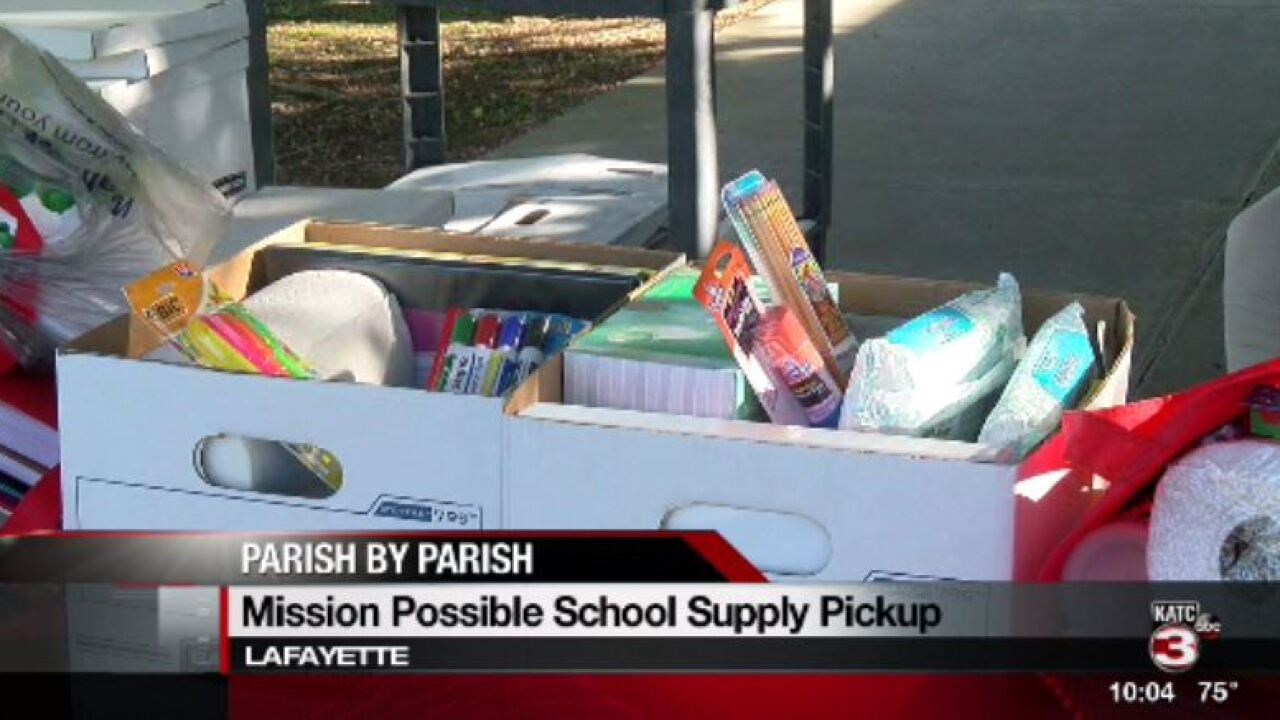 Lafayette school supply drive hosted for single mothers for Lafayette cds 30