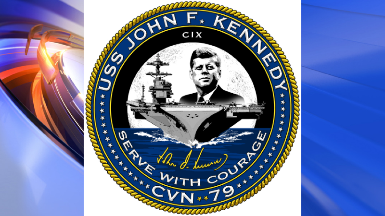 As Kennedy carrier comes to life, ship's clinic sees firstpatient