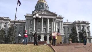 Planned election protests at Colorado State Capitol drew few supporters on Sunday_Jan. 17 2021