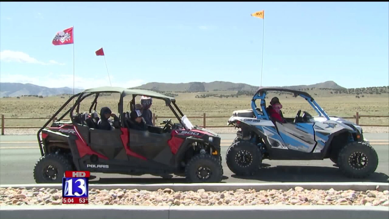 More than 20,000 people expected at Utah's Little Sahara during Easterweekend