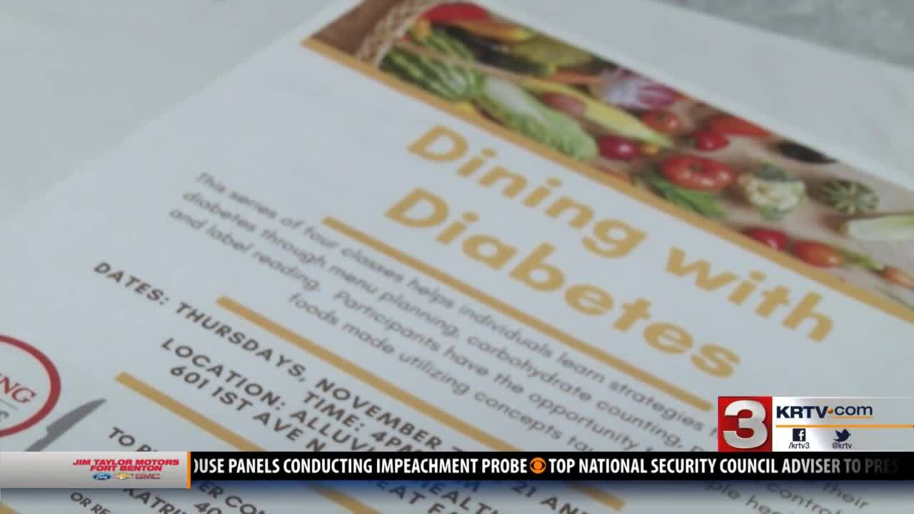 """Dining With Diabetes"" classes offered in Great Falls"