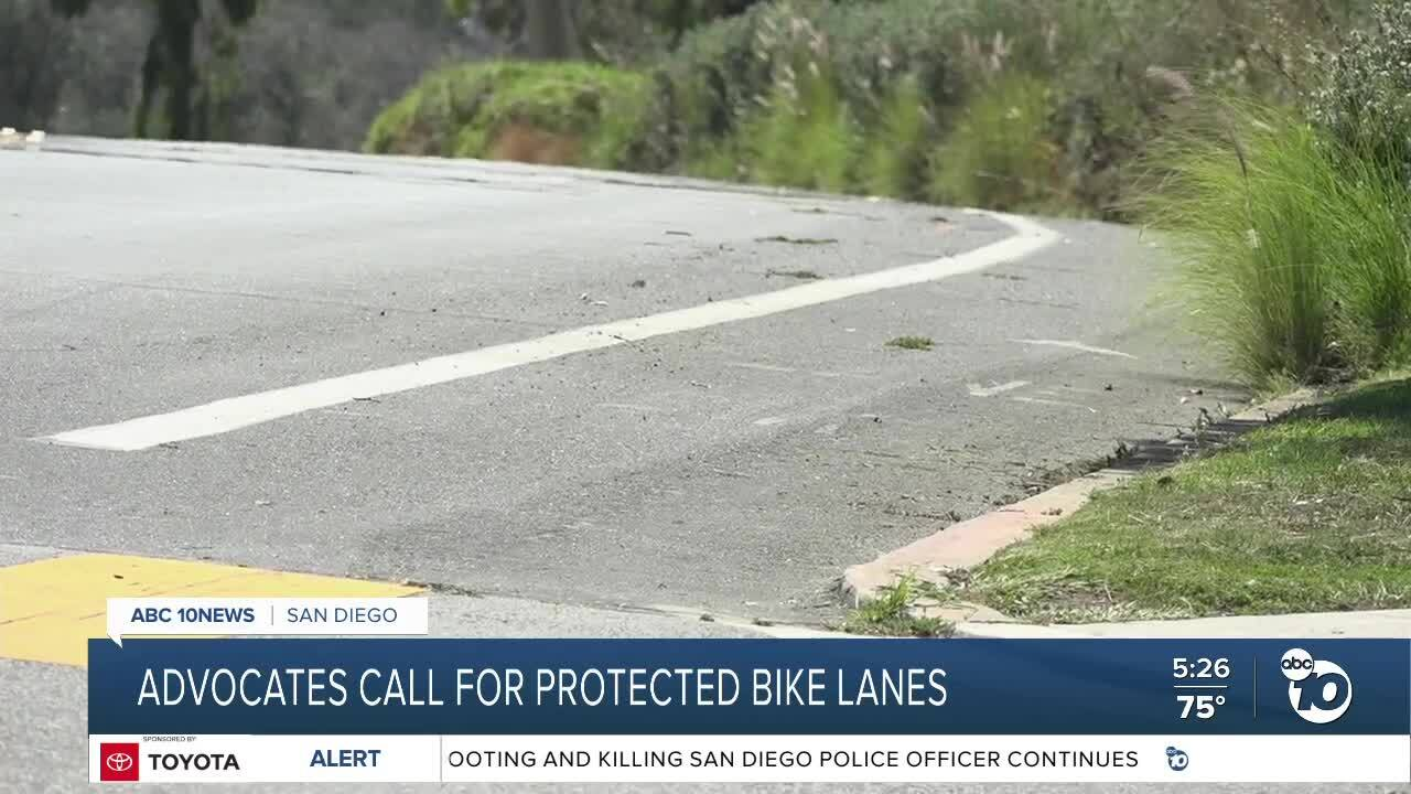 Calls for protected bike lanes on Pershing Drive continue after man riding scooter is killed