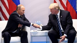 Trump jokes with Putin about election meddling