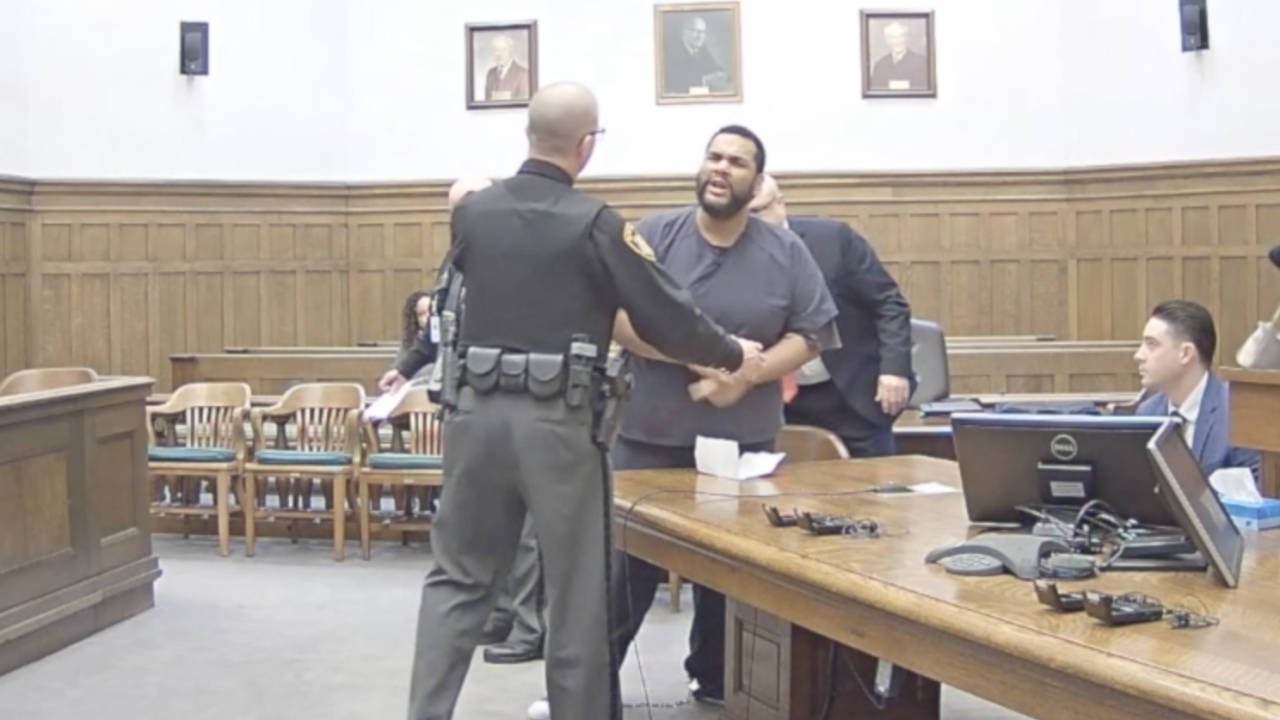 Man's outburst in Ohio courtroom gets him 6 more years in prison