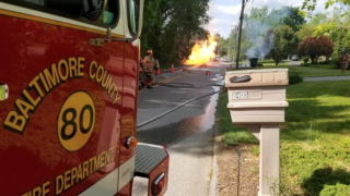 Multiple injured in a gas explosion in the Pikesville area Friday