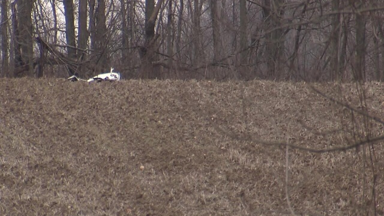 Plane crash in Carroll County