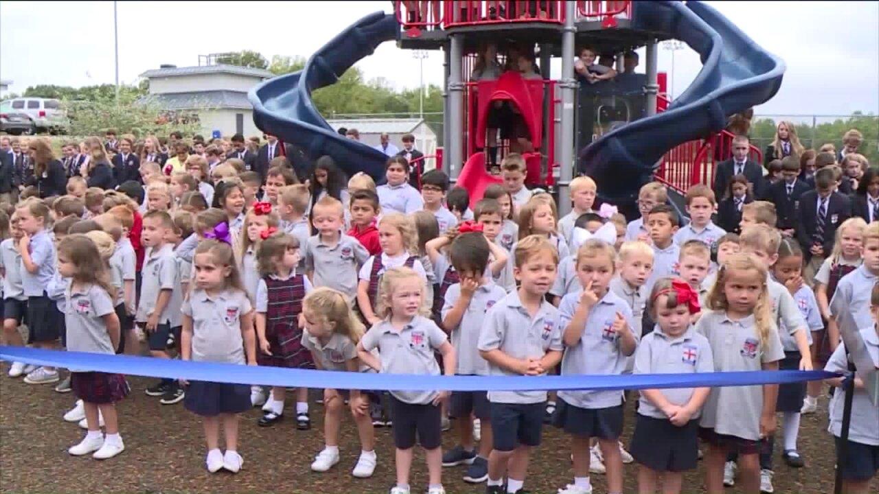 Grandparents donate $1 million to Powhatan school in memory ofgranddaughter