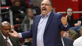 Pistons Van Gundy Basketball