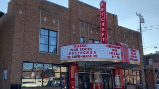 Historic Artcraft Theatre in Franklin suspends public showings of classic holiday films in pandemic