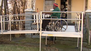 Cleveland man with no running water for a year is stuck in the middle of a blame game