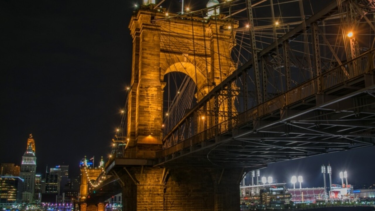 Weather Alert Day: Roebling Suspension Bridge closed due to ice