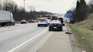 71/75 SB fatal crash with semi