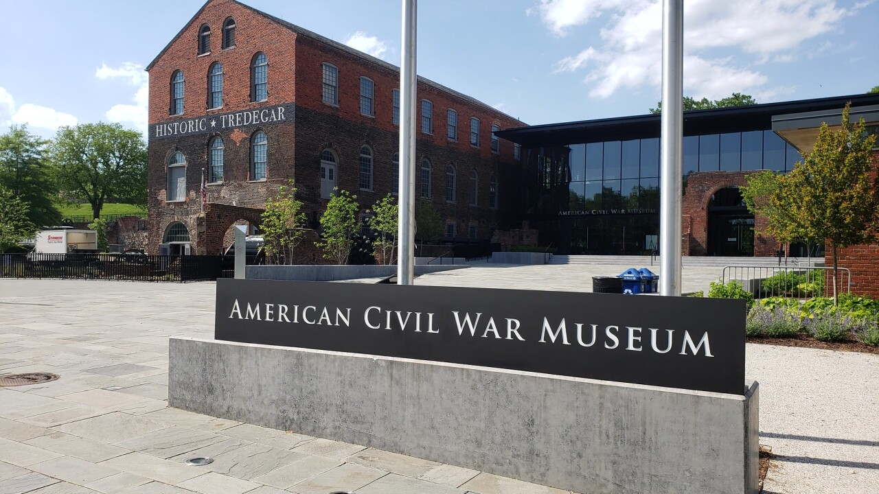 American Civil War Museum in Richmond opens with a cannon blast