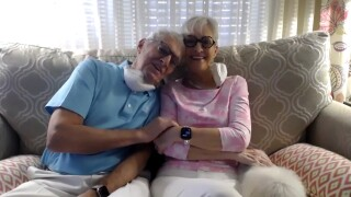 Judi Blankenbaker and Larry Engman